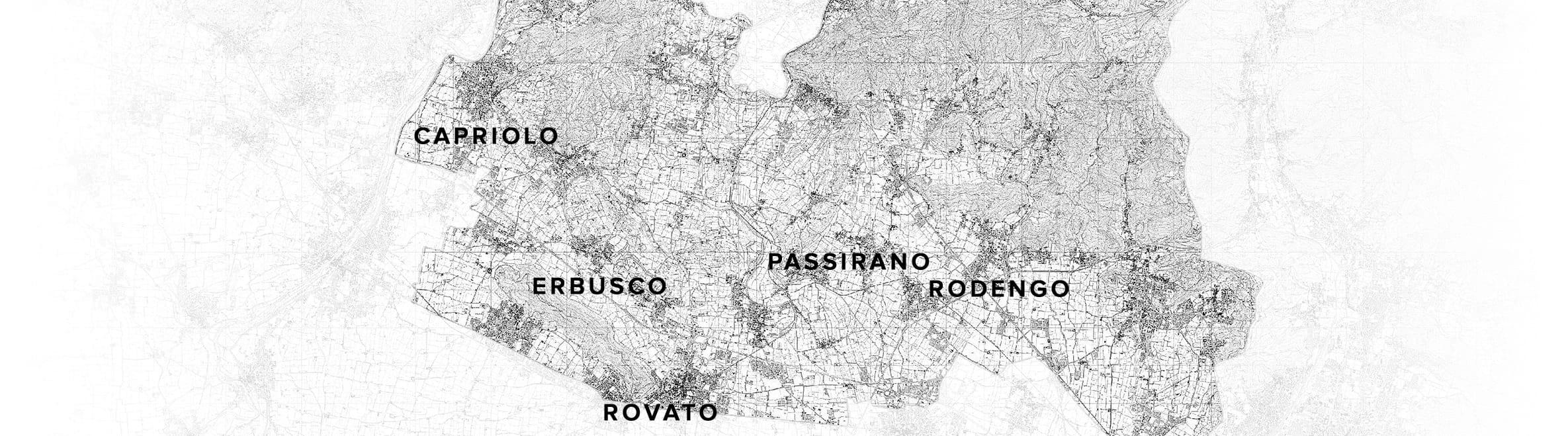 Mappa Franciacorta